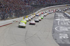 NASCAR : 20 mars Jeff Byrd 500 Photo libre de droits