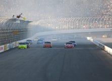 NASCAR: 20 september Sylvania 300 Royalty-vrije Stock Afbeelding