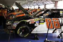 NASCAR 2010 All Star Dale Jr's #88 gets a tune up Stock Photography