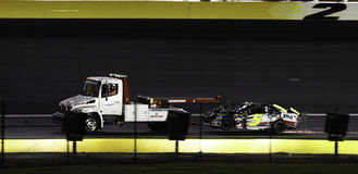 NASCAR - 2010 All Star Wreck for #5 Martin Stock Photo