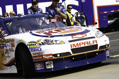 NASCAR 2010 Burger King Chevy de todo el Stewart de la estrella Fotografía de archivo libre de regalías