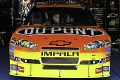 NASCAR - 2010 toda la raza de la estrella #24 Du Pont Chevy pre Imágenes de archivo libres de regalías