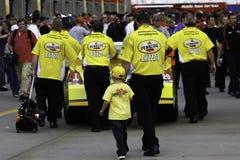 NASCAR 2010 toda a raça da estrela - um caso de família Fotos de Stock