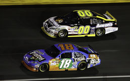 NASCAR - 2010 todas as estrelas Busch e Reutimann Imagens de Stock
