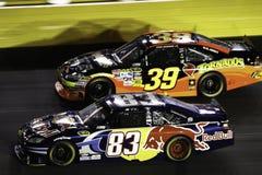 NASCAR - 2010 todas as estrelas de lado a lado! Fotos de Stock Royalty Free