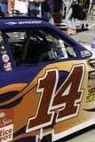 NASCAR - 2010 tutto il fumo Stewart del Tony della stella fotografia stock libera da diritti
