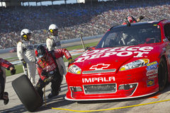 NASCAR 2012年: AAA得克萨斯11月500日02日 库存图片