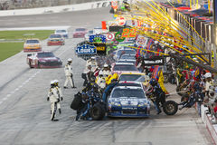 NASCAR 2012: Στις 2 Νοεμβρίου Αντιαεροπορικού Πυροβολικού Τέξας 500 Στοκ εικόνες με δικαίωμα ελεύθερης χρήσης