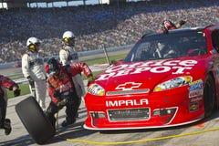 NASCAR 2012: AAA Texas 500 NOVEMBRO 02 imagens de stock