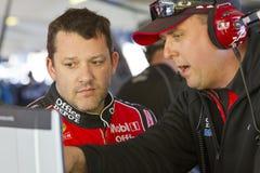 NASCAR 2012: Ajuste fresco 500 do metro Fotografia de Stock