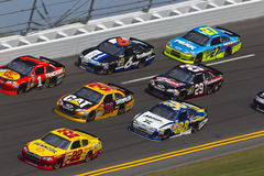 NASCAR 2012: Duel 1 23 van Gatorade Februari Royalty-vrije Stock Foto's