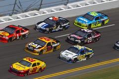 NASCAR 2012: Duello il 1° febbraio 23 di Gatorade Fotografie Stock Libere da Diritti