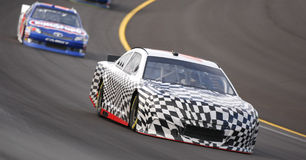 NASCAR 2012:Hollywood Casino 400 OCT 18 Stock Images
