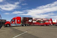 NASCAR 2012:   Kobalt Tools 400 Stock Photography