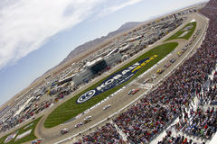 NASCAR 2012: Kobalt Tools 400 Royalty Free Stock Photo