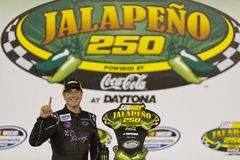 NASCAR 2012:  Nationwide Series Jalapeno 250 Stock Image