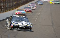 NASCAR 2012 : Rasoir 400 de Curtiss de série de cuvette de Sprint Image stock