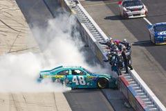 NASCAR 2012: Série Federal Express 400 do copo de Sprint foto de stock