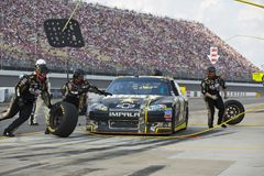 NASCAR 2012:  Sprint Cup Quicken Loans 400 Stock Image
