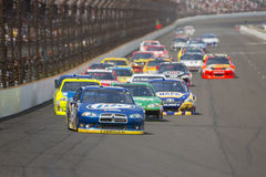NASCAR 2012:  Sprint Cup Series Curtiss Shaver 400 Stock Images
