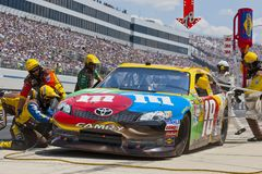 NASCAR 2012:  Sprint Cup Series FedEx 400 Royalty Free Stock Photography