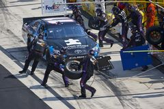 NASCAR 2012:  Sprint Cup Series FedEx 400 Royalty Free Stock Images