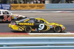NASCAR 2012: Sprinten Sie Cup-Serien-Finger Seen 355 Stockbild