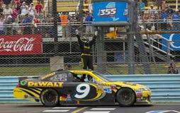 NASCAR 2012: Sprinten Sie Cup-Serien-Finger Seen 355 Stockfotos