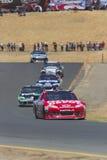 NASCAR 2012: Toyota redt Markt 350 JUN 24 Royalty-vrije Stock Foto's