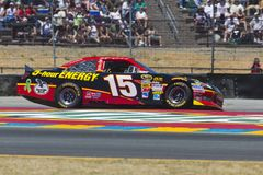 NASCAR 2012: Toyota redt Markt 350 JUN 24 Royalty-vrije Stock Afbeelding