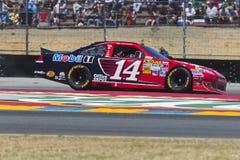 NASCAR 2012: Toyota salva el centro comercial el 24 de junio 350 Imágenes de archivo libres de regalías