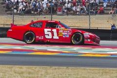NASCAR 2012 : Toyota sauvegardent le marché le 24 juin 350 Photo stock