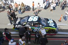 NASCAR 2012: Toyota Save Mart 350 JUN 24 Stock Photography