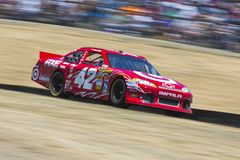 NASCAR 2012: Toyota Save Mart 350 JUN 24 Royalty Free Stock Images
