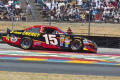 NASCAR 2012: Toyota Save Mart 350 JUN 24 Stock Images