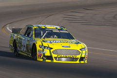 NASCAR 2013:  Sprint Cup Series Subway Fresh Fit 500 MAR 01. AVONDALE, AZ - MAR 01, 2013:  Carl Edwards (99) takes his car on the track and qualifies 15th for Stock Image