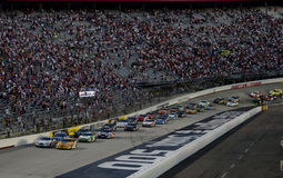 NASCAR: 21 augustus Stad 250 van het Voedsel royalty-vrije stock foto's