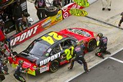NASCAR: 21. März-Nahrungsmittelstadt 500 Stockfotografie