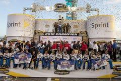 NASCAR: 21. November Ford 400 Lizenzfreies Stockbild