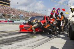 NASCAR: 21. November Ford 400 Stockbild