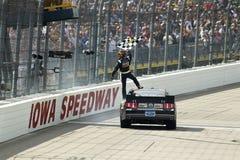 NASCAR: 22 mei Iowa John Deere Dealers 250 royalty-vrije stock afbeeldingen