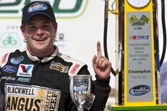 NASCAR: 22 mei Iowa John Deere Dealers 250 royalty-vrije stock afbeelding