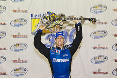 NASCAR: 23 juli Gefederaliseerde AutoDelen 300 Royalty-vrije Stock Foto