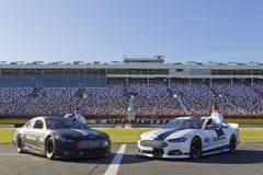NASCAR: 24 de Reis van de Media NASCAR van januari Stock Foto's
