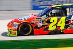 NASCAR #24 Du Pont Chevy von Jeff Gordon Lizenzfreies Stockfoto