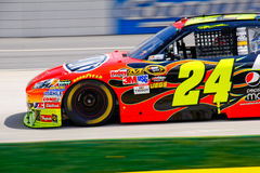 NASCAR #24 Dupont Chevy van Jeff Gordon Royalty-vrije Stock Foto