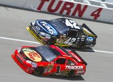 NASCAR: 25. April Aaron 499 Lizenzfreies Stockfoto