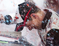 NASCAR: 25 aprile Aaron 312 Immagini Stock
