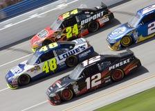 NASCAR : 25 avril Aaron 499 Image libre de droits