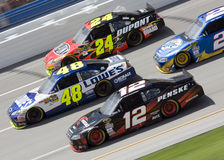 NASCAR: 25 de abril Aaron 499 Imagen de archivo libre de regalías